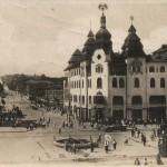 Проспект К. Маркса угол Короленковской, год: 1935