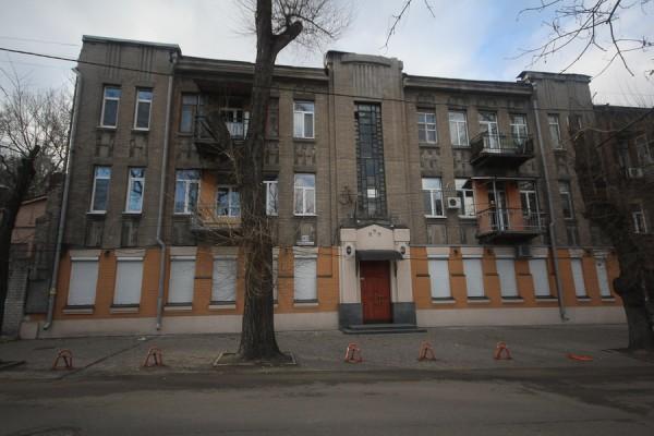 Старинный дом в Днепропетровске (Екатринославе) на улице Исполкомовской (2)