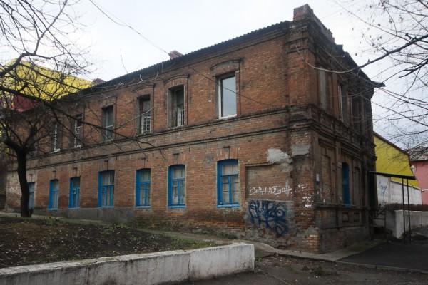 Днепропетровск-Екатеринослав. Старинный дом ул. Чкалова (2)
