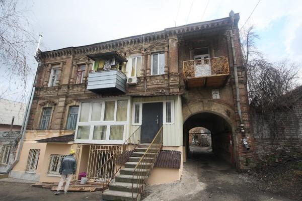 Старинный дом в Днепропетровске (Екатринославе) на улице Володарского