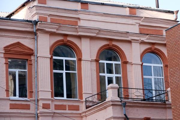 Днепропетровск-Екатеринослав. Старинный дом ул. Комсомольская. дом Клевцовой (3)