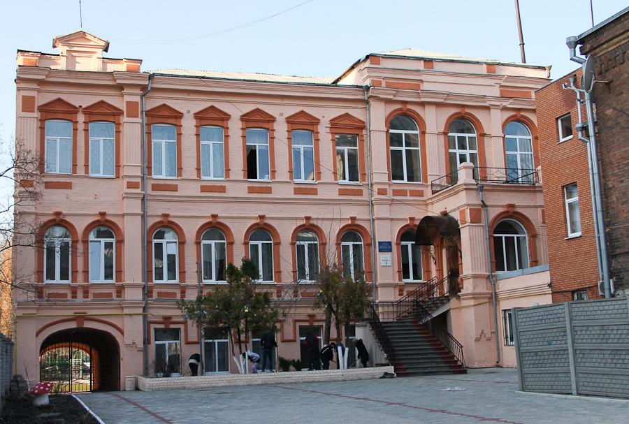 Днепропетровск-Екатеринослав. Старинный дом ул. Комсомольская. дом Клевцовой (5)